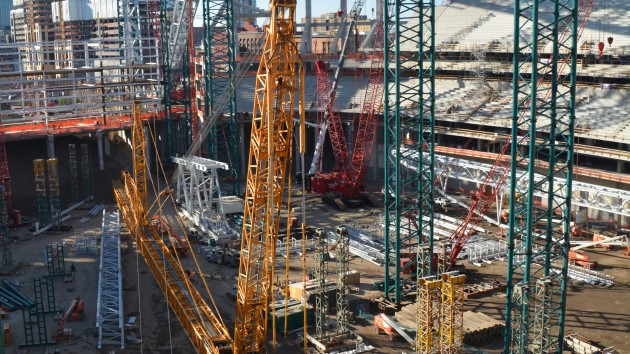 Vikings Stadium…a view from the upper deck